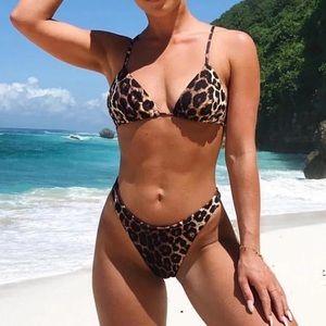 NWT Sexy Leopard Print Bikini